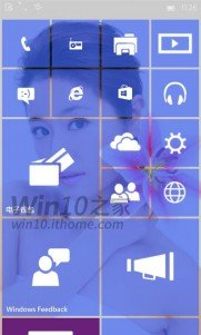 Windows 10 para moviles, nueva Build 10072 muestra ajustes de transparencias en tiles, la tienda beta, y más