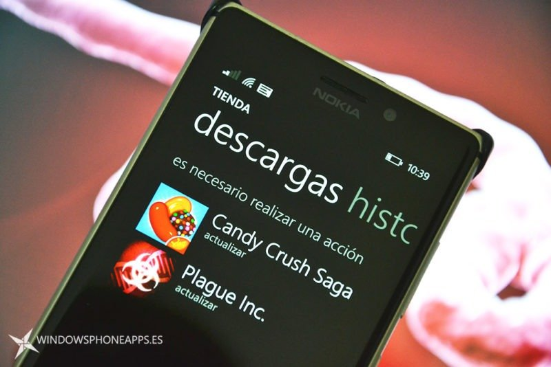 actualizaciones Plague Inc y Candy Crush Saga