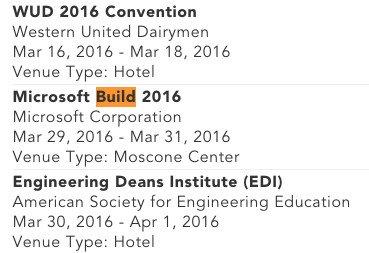 Posible fecha Build 2016