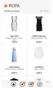 Zalando Shopping, llega la aplicación oficial de la popular tienda de ropa online a Windows Phone