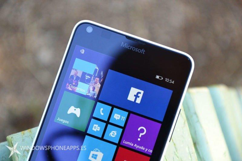 facebook lumia 640