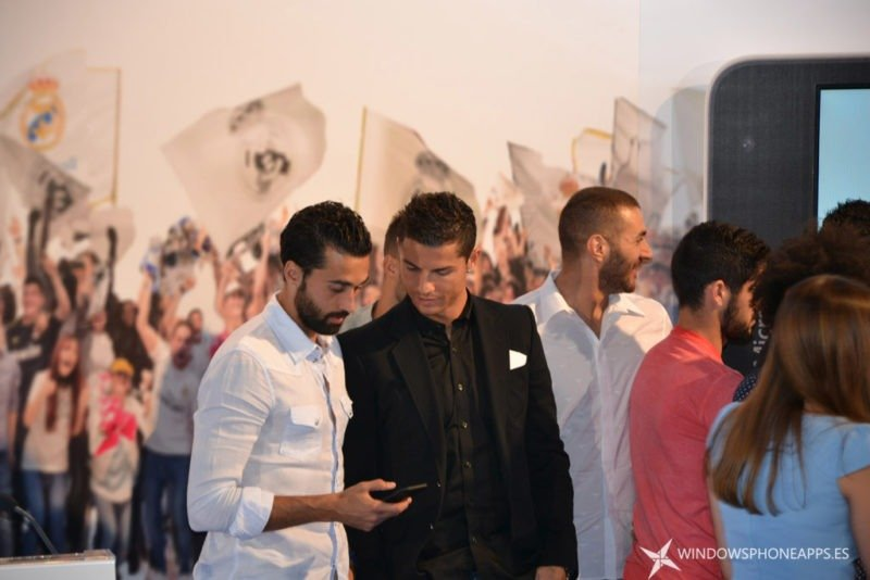 realmadrid app - Arbeloa - Cristiano Ronaldo