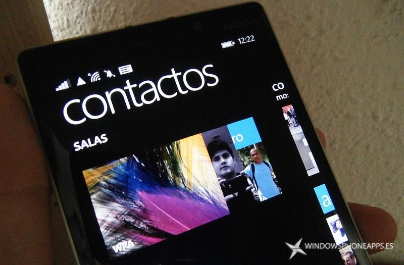 Salas de Windows Phone