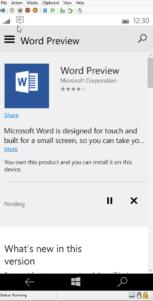 Soporte para ratón y teclado en Windows 10 para móviles se muestra en video gracias al emulador