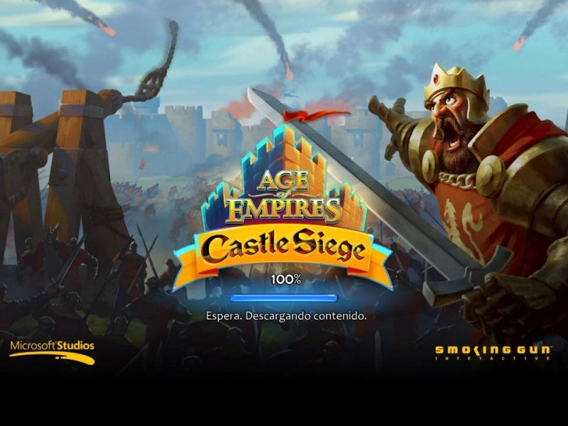 age of empires castle siege pantalla