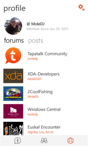 Tapatalk ahora es aplicación universal en las tiendas Windows