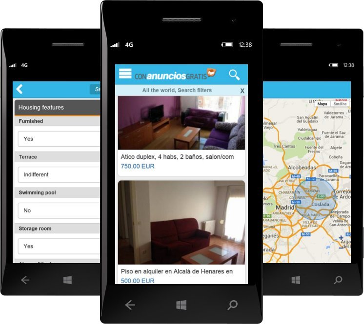 Pisos y Casas (Flats and Houses) Windows Phone 02