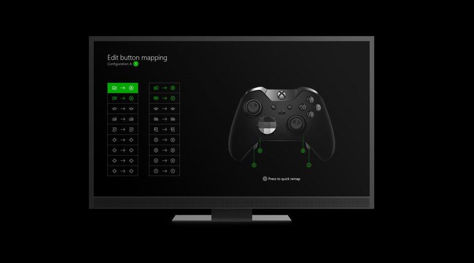 Xbox One Elite controller app