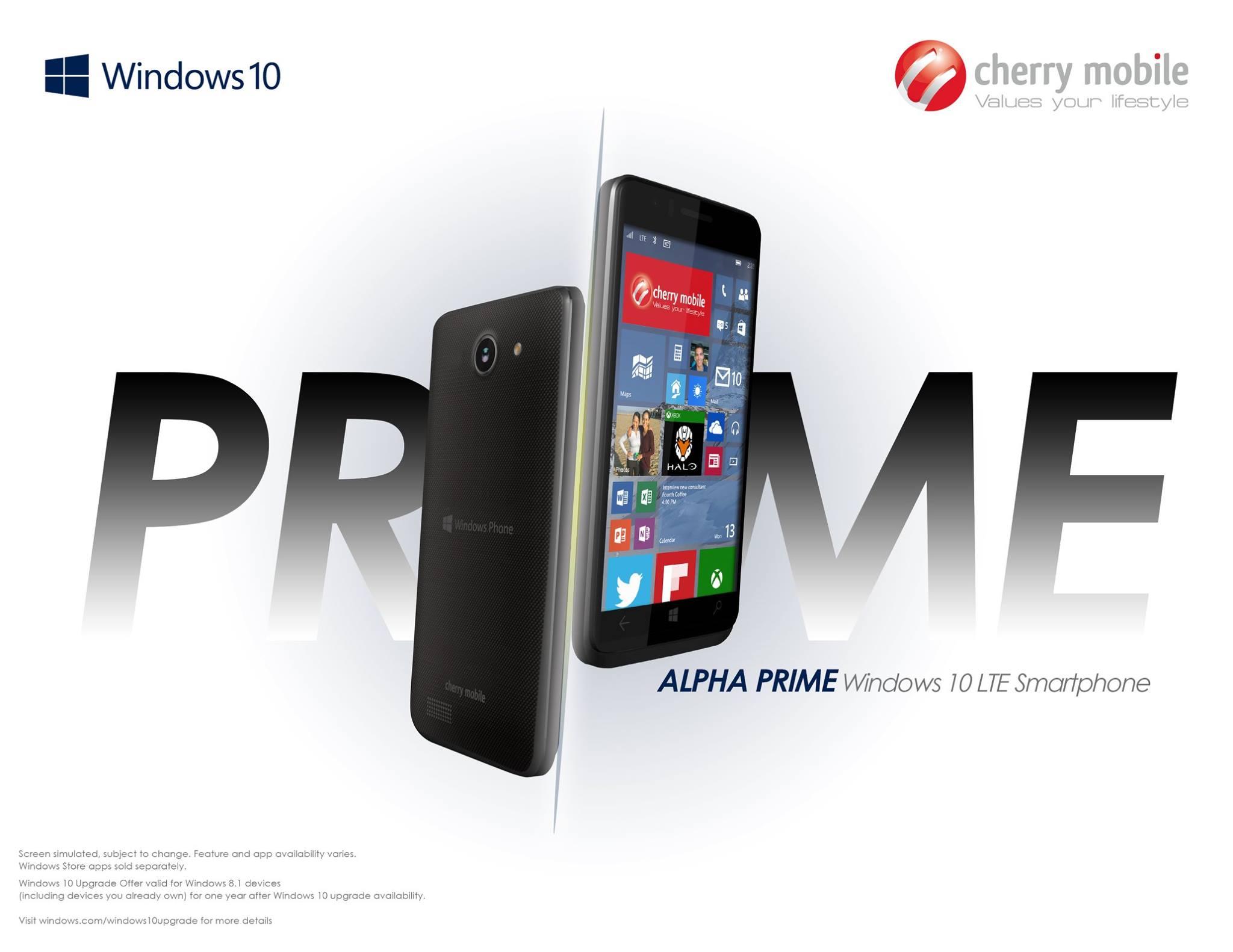 alpha prime con windows 10