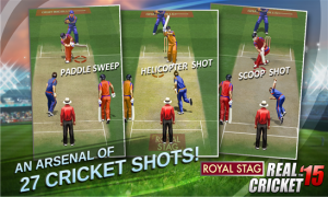 Real Cricket 15 ya está disponible en la tienda Windows Phone