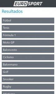 eurosport app WP