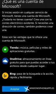 La Build 10149 de Windows 10 Mobile incluye el nuevo apartado tu cuenta y PIN para iniciar sesión