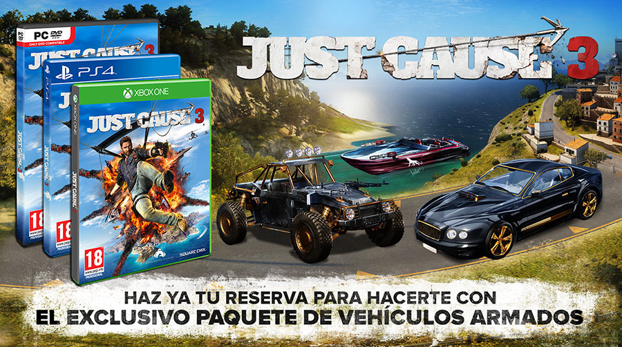 Just Cause 3 reserva