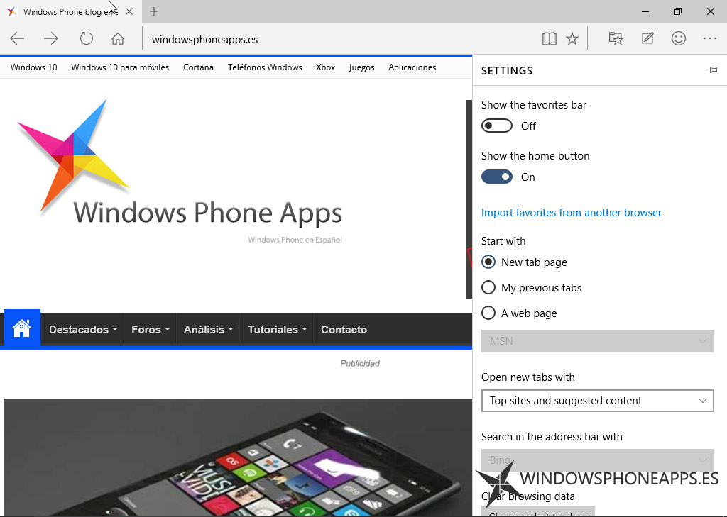 windows 10 build 10134 edge
