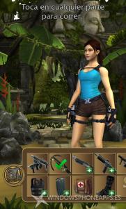 "Review: ""Lara Croft: Relic Run"" para Windows Phone"