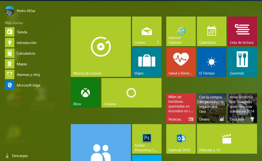 Musica de Groove Windows 10