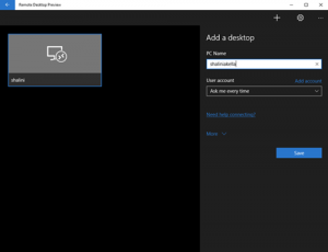 Microsoft lanza la nueva app Remote Desktop Preview para Windows 10