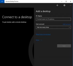 Remote Desktop Preview