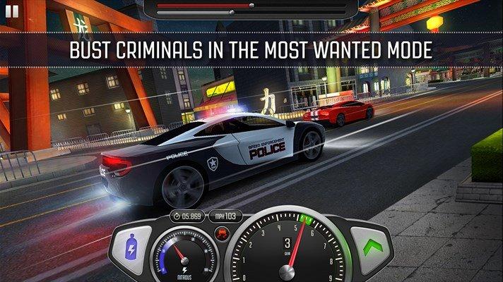 Top Speed: Drag & Fast Racing, el gran juego de carreras que llega a Windows Phone