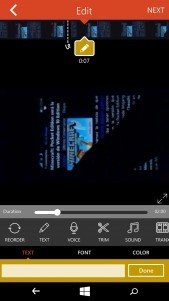 Videoshop, un nuevo editor de video llega a Windows Phone