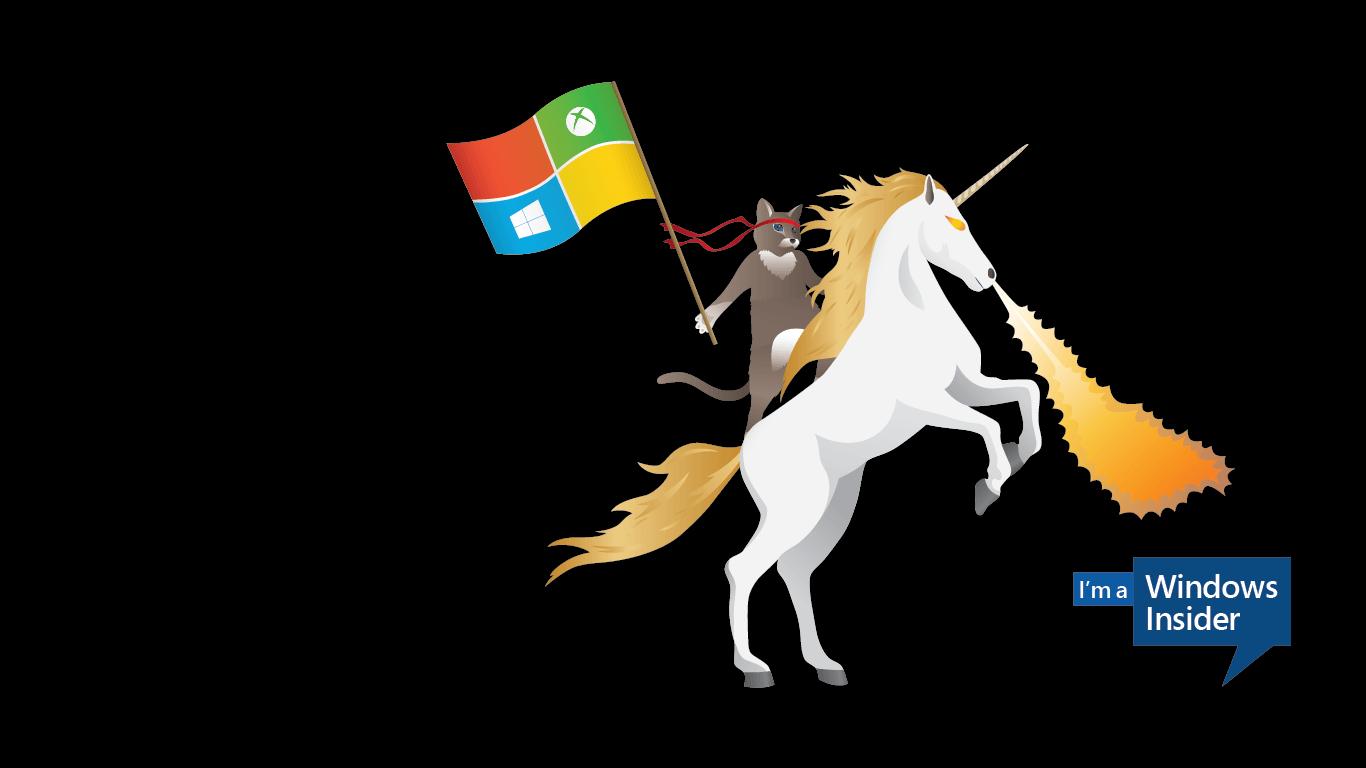 Windows_Insider_Ninjacat_Unicorn