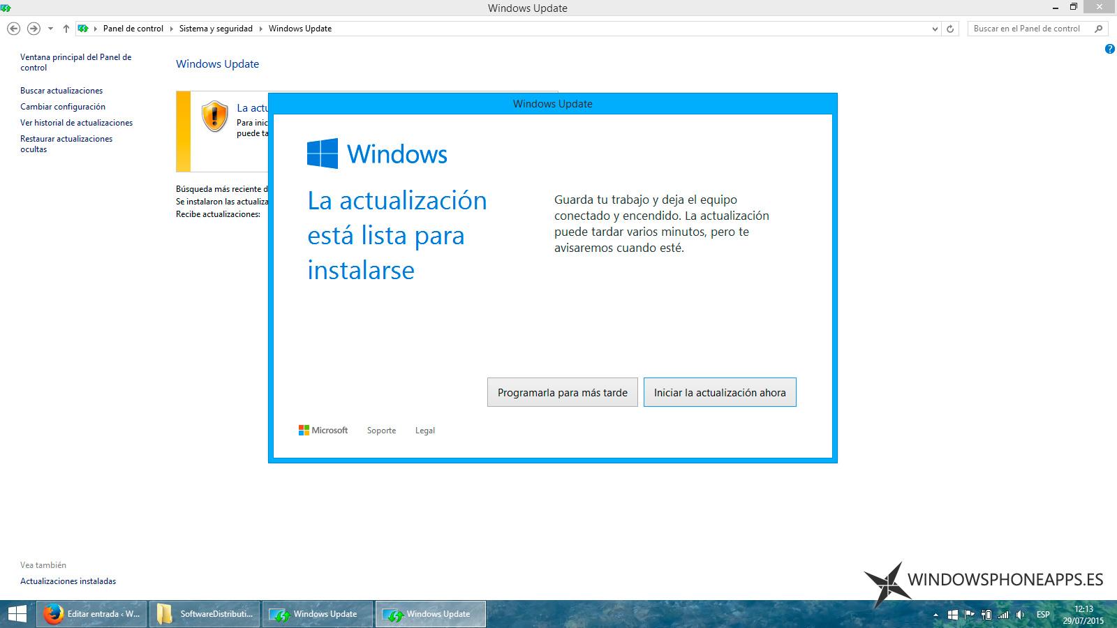 Si no puedes actualizar a Windows 10, te damos algunas soluciones