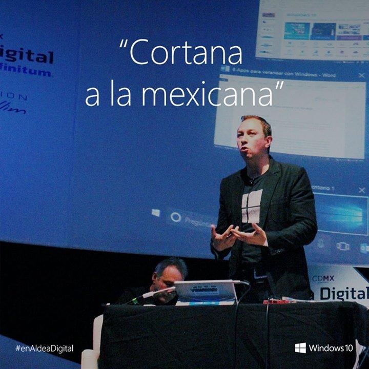 Cortana en Español Mexicano