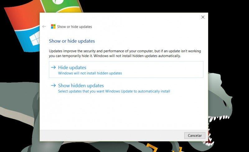 Con esta herramienta podrás ocultar o bloquear ciertas actualizaciones en Windows 10