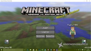 minecraft edicion windows 10 beta - home