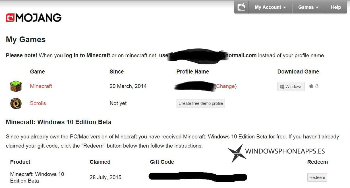 Minecraft: Windows 10 Edition Beta ya se puede descargar si