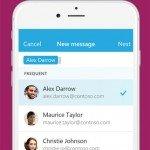 Send, la nueva app de mensajería de Microsoft Garage