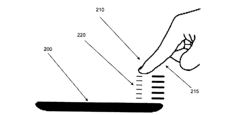 tactil 3d patente