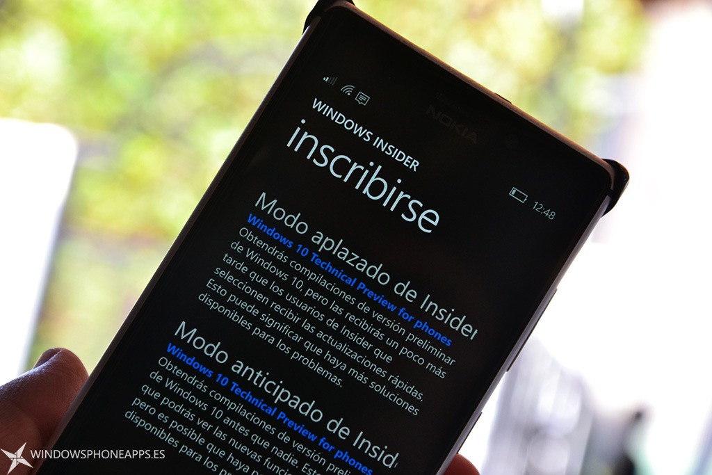 Windows Insider en español