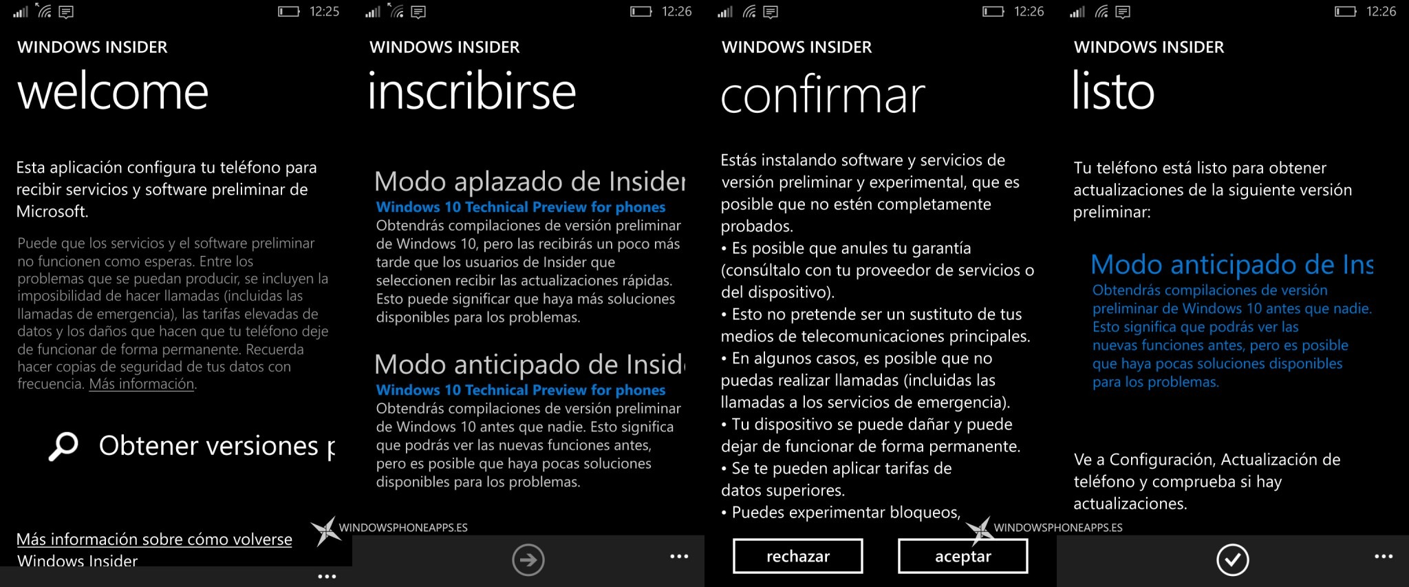 windows insider en espanol