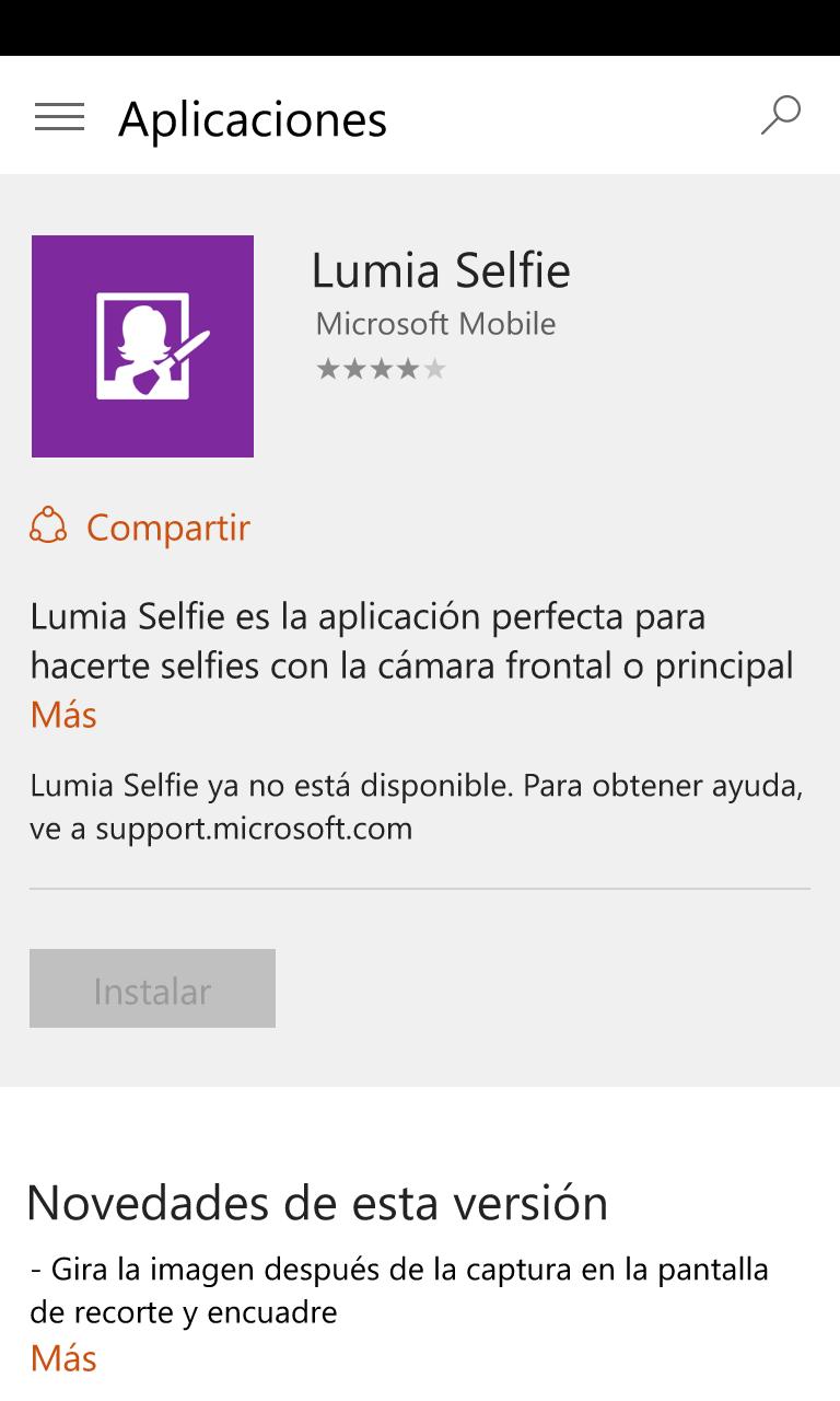 Muchas de las aplicaciones Lumia no están disponibles para Windows ...