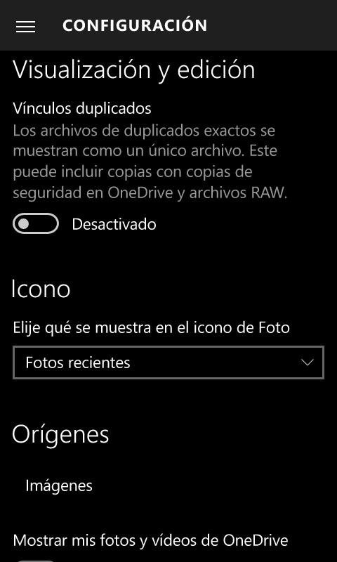 Calendario y Correo, Fotos y Cámara se actualizan en Windows 10 Mobile