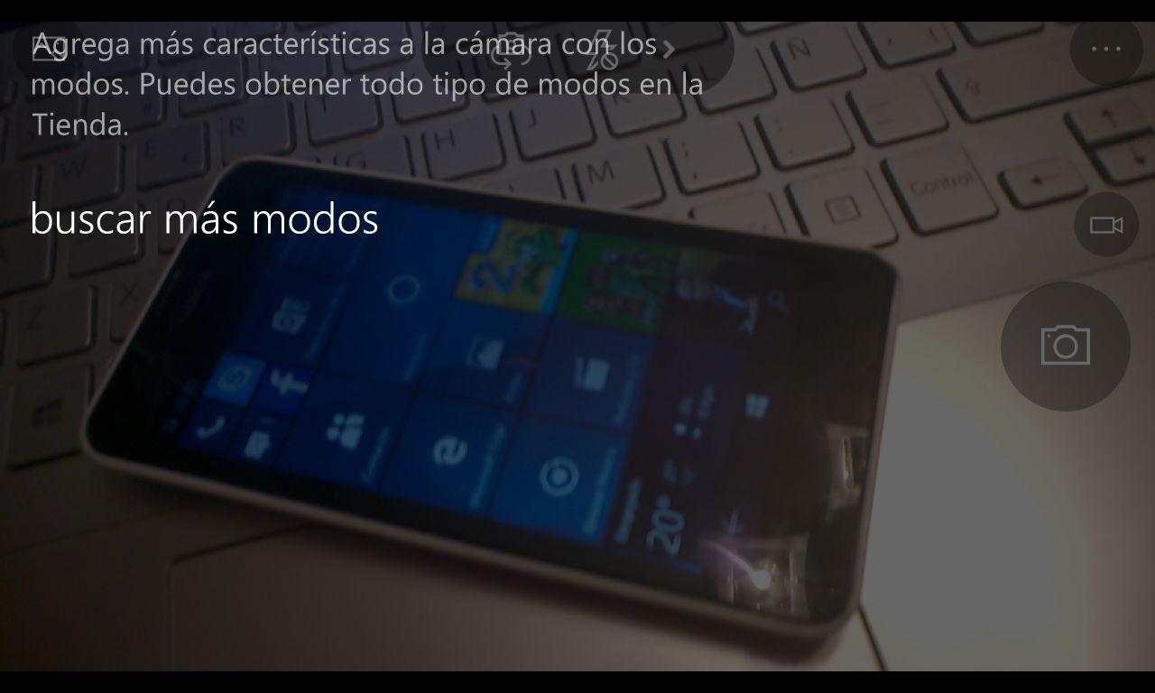 """Cámara de Windows se actualiza incorporando los """"modos"""""""