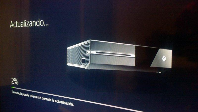 actualizacion Xbox ONE