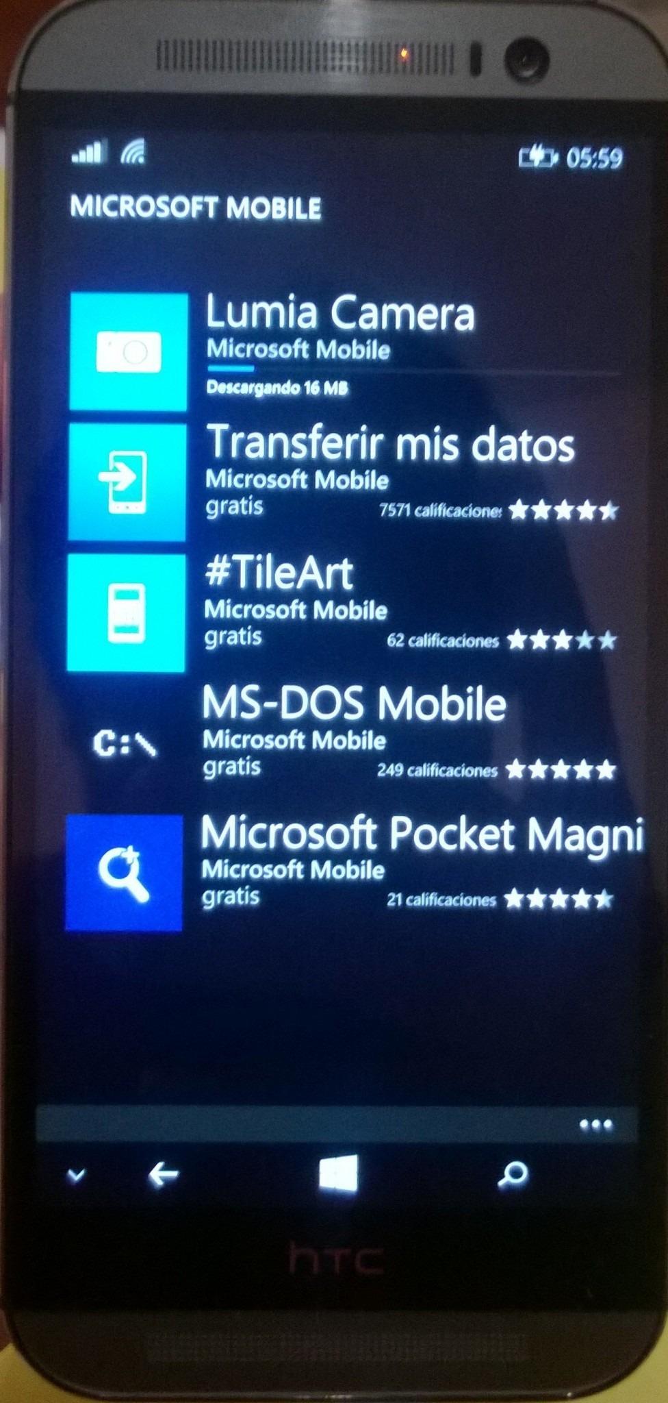 apps microsoft en Samsung