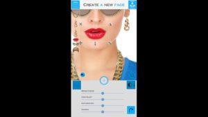 """Juega con tus fotografías y la aplicación """"Create A New Face"""""""