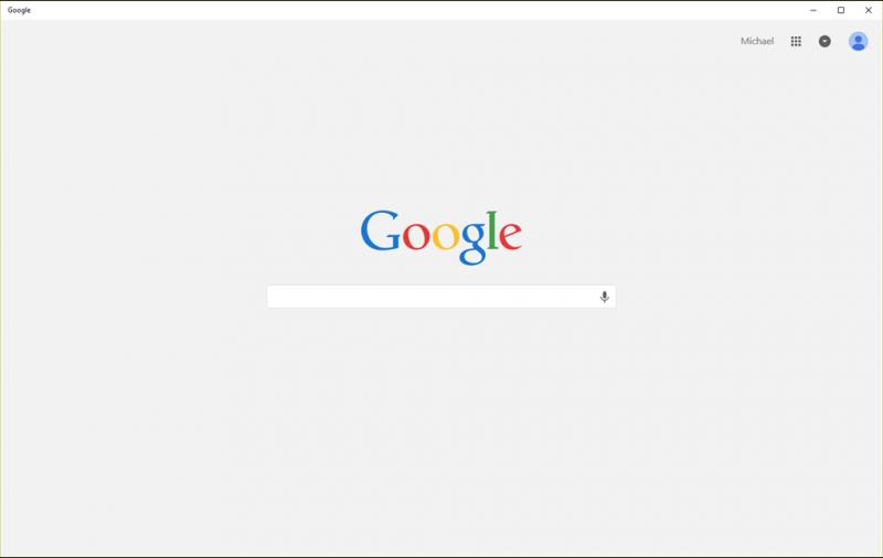 google app windows 10