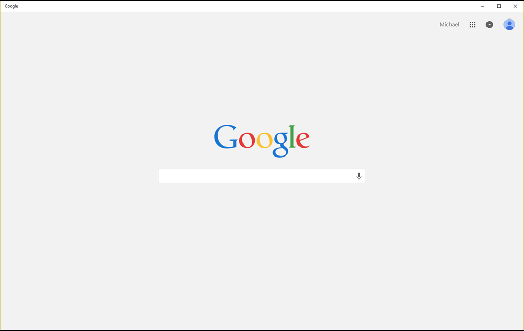 google app windows 10
