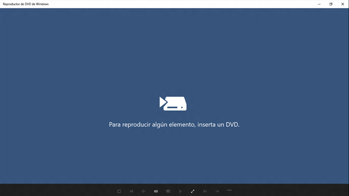 reproductor de dvd de Windows