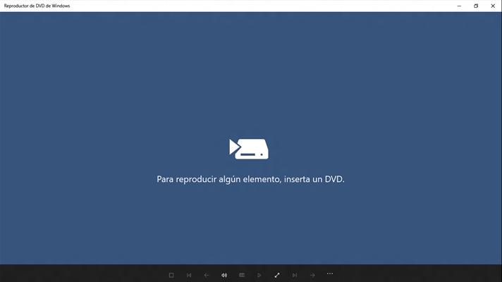 reproductor de dvd de Windows