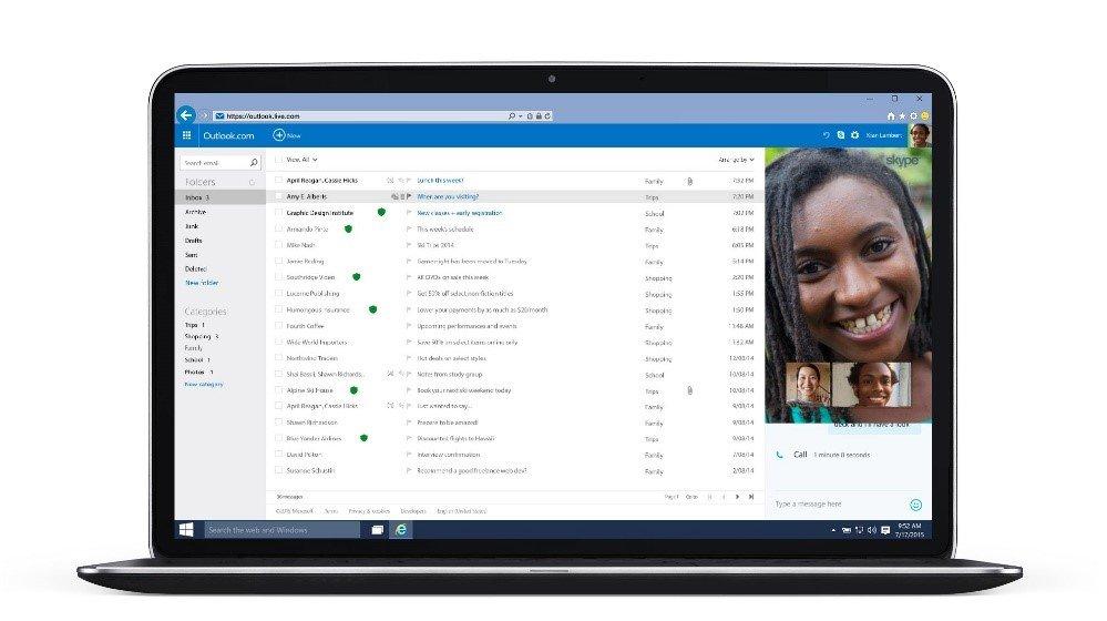skype grupo outlook