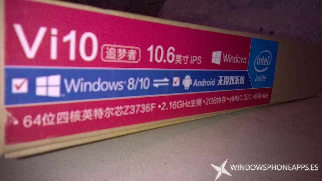 Chuwi Vi10, una tablet dualboot que viene a proporcionar calidad a bajo coste
