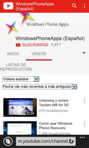 Google actualiza la interfaz de Youtube móvil en nuestra plataforma