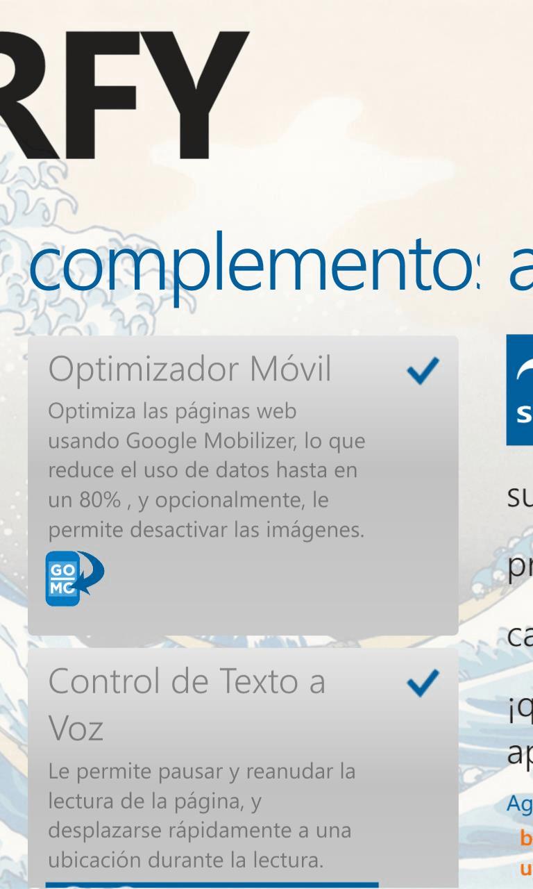 El popular navegador Surfy, se actualiza volviéndose completamente ...