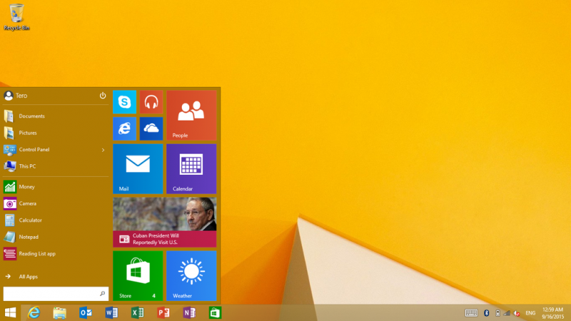 how to use narrator windows 8.1