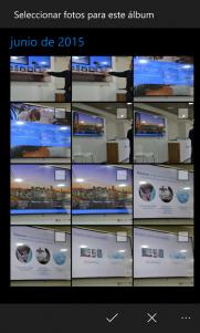 Fotos de Windows 10 ya permite crear albumes desde la aplicación